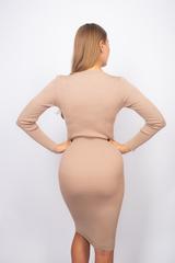 Платье из полиэстера до колена оптом