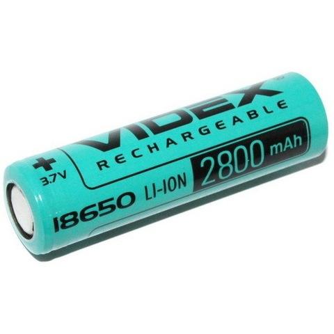 Аккумуляторы 18650 Videx 2800mAh (20A) высокотоковый (Li-ion)