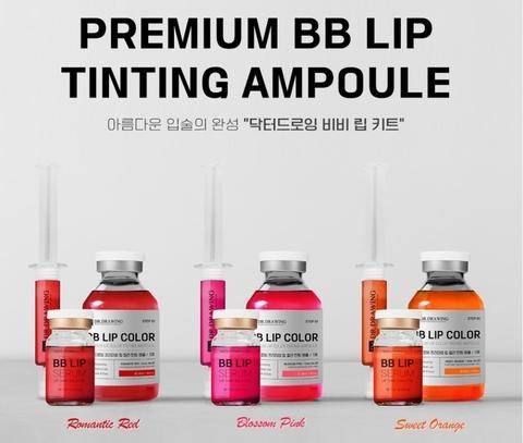 Тинты для губ DR.DRAWING BB Lip ORANGE набор