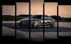 "Модульная картина ""Audi rs7 sportback"""