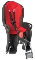 Детское велокресло с наклоном Hamax Sleepy 551501 Black/Red