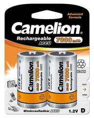 Аккумуляторы Camelion, D (R20) 7000mAh
