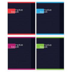 Тетрадь общая Attache Note Book А5 48 листов в клетку на скрепке (обложка в ассортименте)