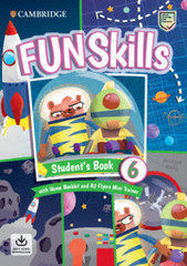 Fun Skills 6 Flyers Student's Book with Home Booklet and Mini Trainer with Downloadable Audio