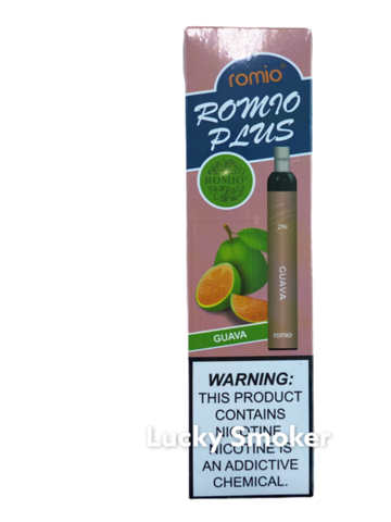 Romio Plus (600 затяжек) Guava