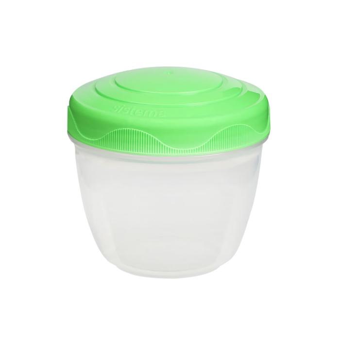 """Контейнер для йогурта Sistema """"TO GO"""" 305 мл, цвет Зеленый"""