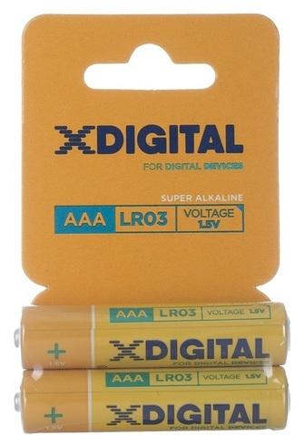 Батарейки X-DIGITAL LR03, AAA (2/60) BL
