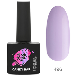 Гель-лак RockNail Candy Вar 496 Macaroon At The...