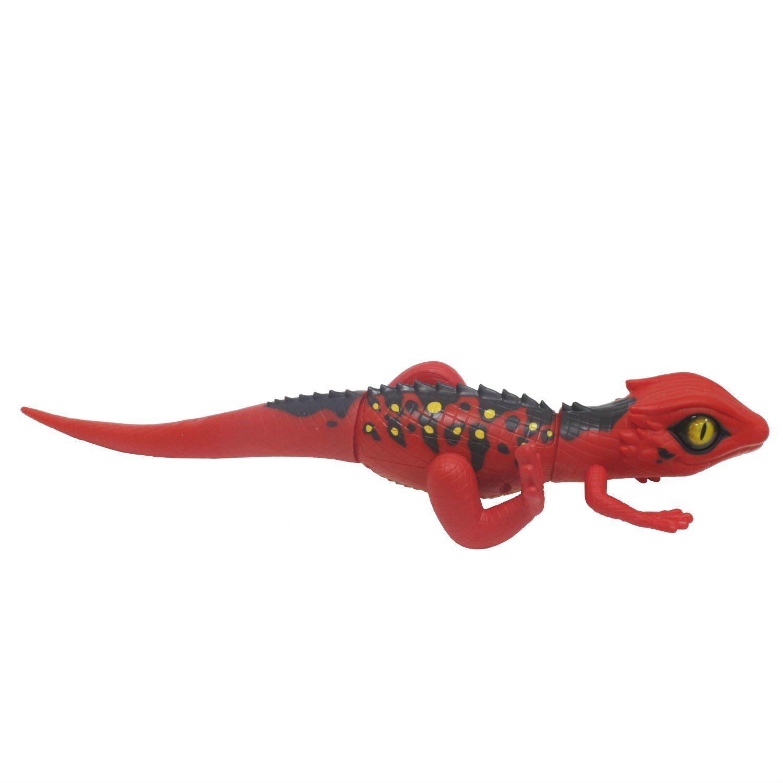 Робо-ящерица 1TOY RoboAlive Красная