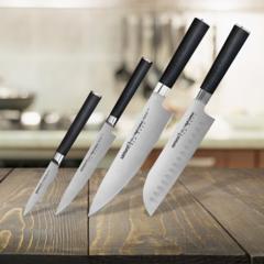 Набор из 4-х ножей Samura MO-V