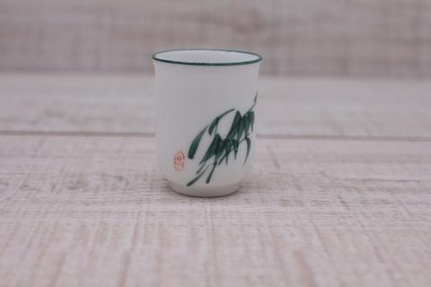 Чашка для аромата с зеленой травой, фарфор, 30мл