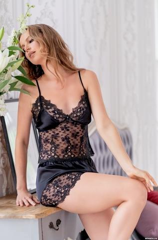 Пижама женская Mia-Amore EDITA ЭДИТА 3672 черный