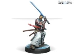 Miyamoto Mushashi (вооружен EXP CC Weapon)