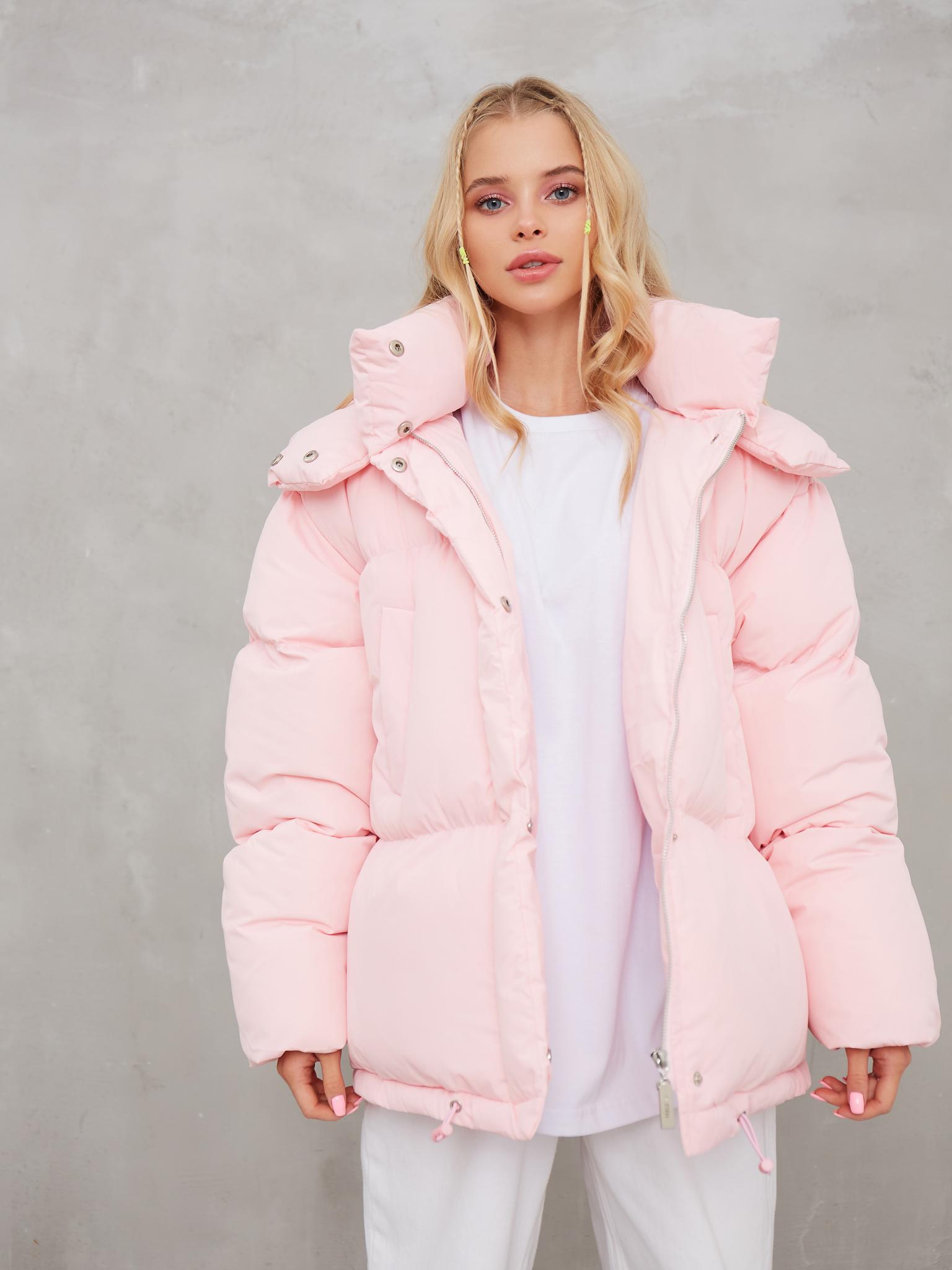Куртка пуховик Feelz Ripster, Розовый