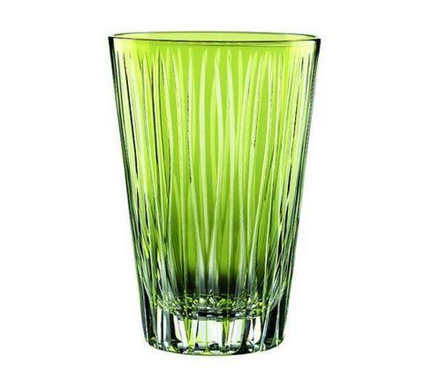 Sixties Lines Kiwi - Набор высоких стаканов из хрусталя, 2 штуки, 360 мл