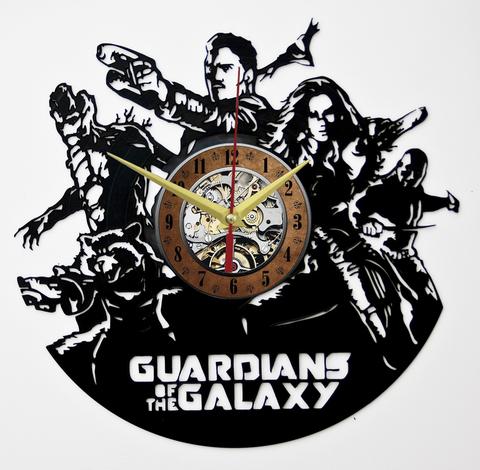 Стражи Галактики Часы из Пластинки — Команда