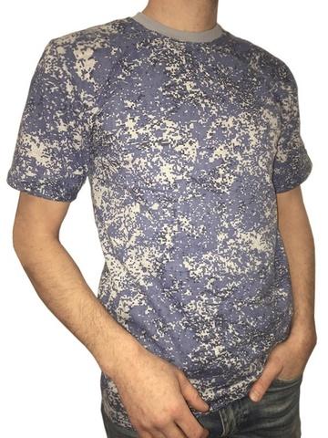 Купить футболка пиксель голубой - Магазин тельняшек.ру 8-800-700-93-18Футболка камуфлированная ПИКСЕЛЬ ГОЛУБОЙ в Магазине тельняшек