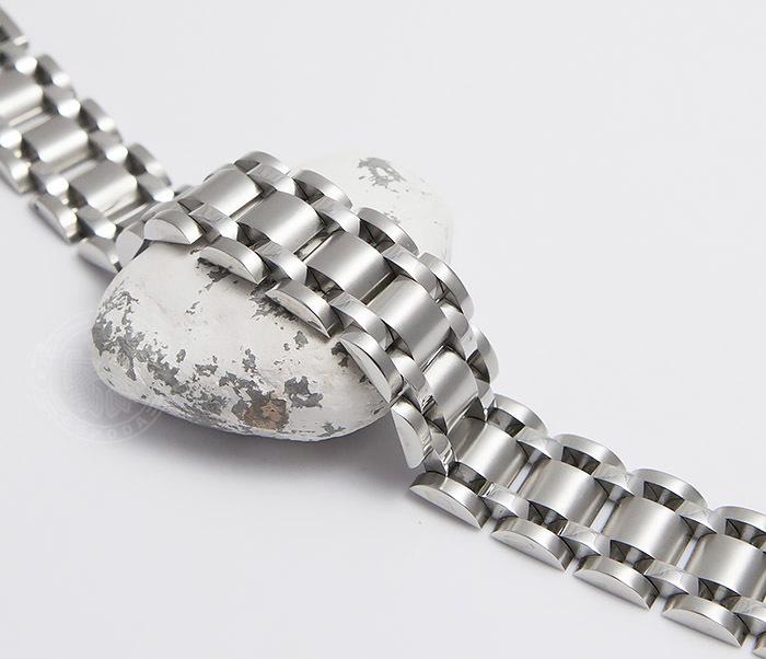 BM479 Широкий браслет из ювелирной стали (21 см)
