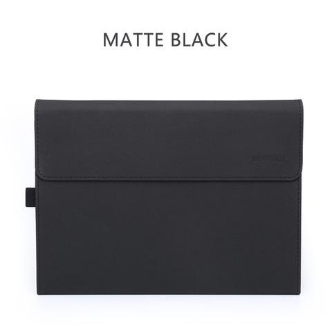 Чехол-папка для Bestchoi с держателем для стилуса для Microsoft Surface Pro 5,6 (черная)
