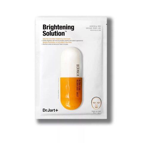 Dr. Jart+ Тканевая маска Dermask Water Jet Brightening Solution, 1 шт