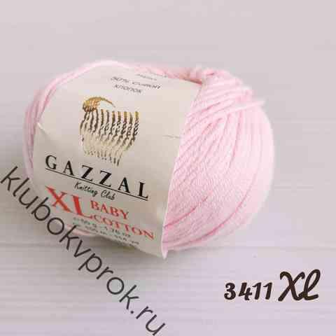 GAZZAL BABY COTTON XL 3411XL, Нежный розовый