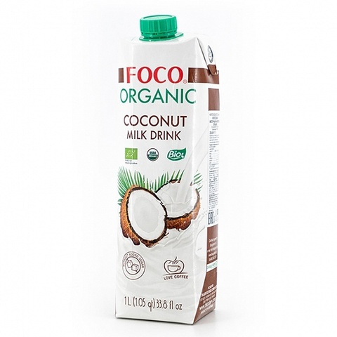 Кокосовый молочный напиток FOCO   1л.