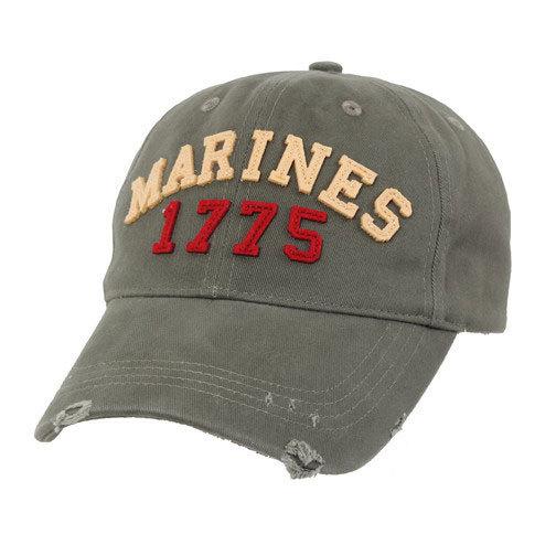Кепка Deluxe Vintage Marines 1775 Cap Rothco (хаки)
