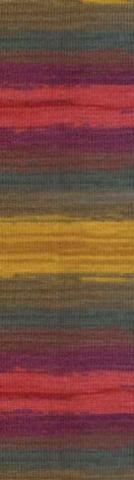 Купить Пряжа Alize Lanagold batik Код цвета 3368 | Интернет-магазин пряжи «Пряха»