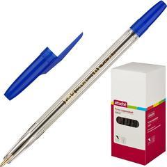 Ручка шариковая Attache Corvet синяя (толщина линии 0.7 мм)