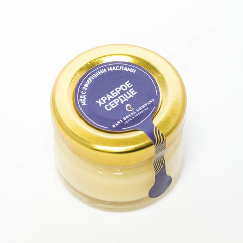 Мёд с эфирными маслами «Храброе сердце» 30 г