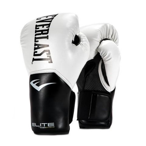 Перчатки боксерские Elite ProStyle, Everlast белые