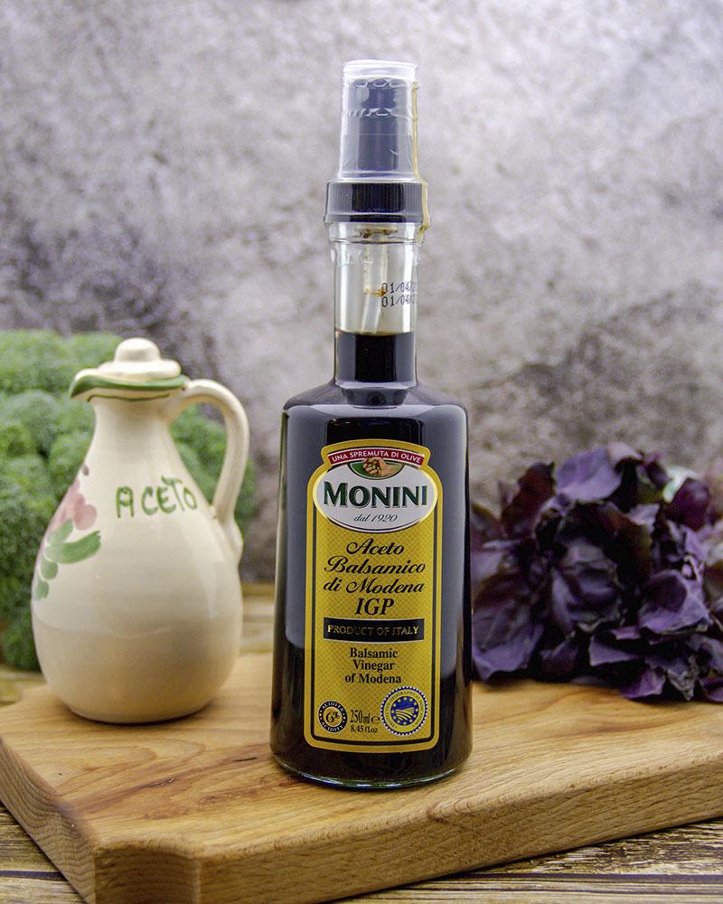 Уксус винный Monini бальзамический спрей 250 мл.