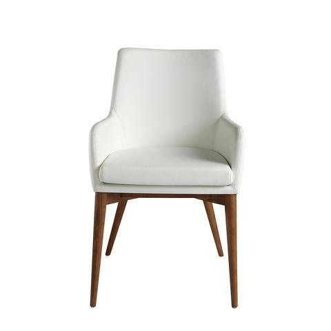 Кресло DC627-ARM белое