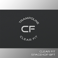 Clear Fit SpaceHop 8Ft