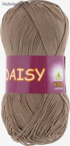 Пряжа Daisy 4405 светлое какао Vita Сotton - мерсеризованный хлопок