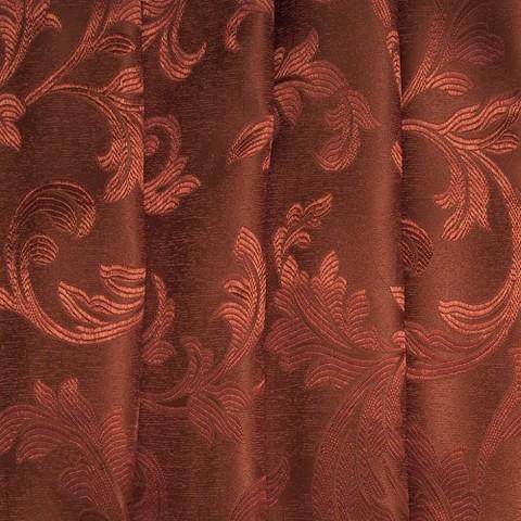 Портьерная ткань 150 см Дебют GLL989-21 бронза вензель