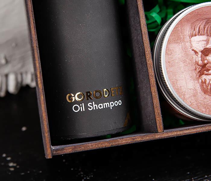 Набор и масляного шампуня, глины для волос и масла для бороды фото 04