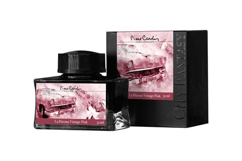 Чернила во флаконе Pierre Cardin  (PC332-L8) 50 мл розовые