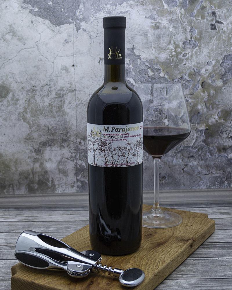 Вино фруктовое, гранатовое Сухое