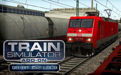 Train Simulator: DB BR 152 Loco Add-On (для ПК, цифровой ключ)