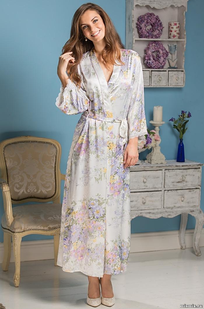 Шелковые халаты Халат женский MIA-Amore  Lilianna Лилианна 5999 5999.jpg