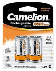 Аккумуляторы Camelion, C (R14) 3500mAh