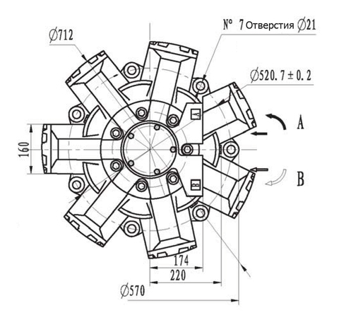 Гидромотор IMB 270-3300