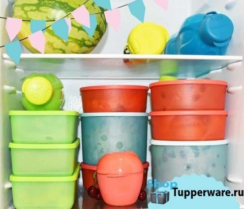 кубиксы, цилиндриксы, бутылки эко - хранение в холодильнике