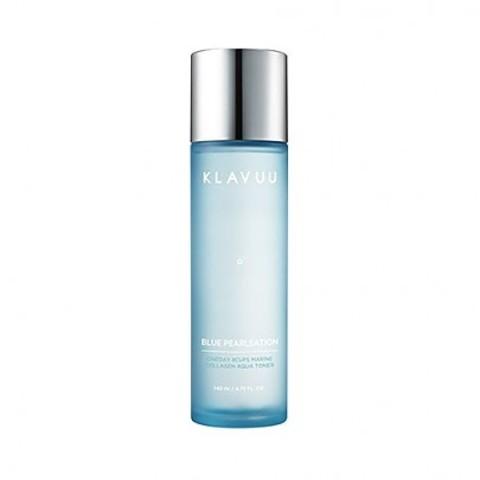 KLAVUU blue pearlsation one day 8 cups marine collagen aqua toner