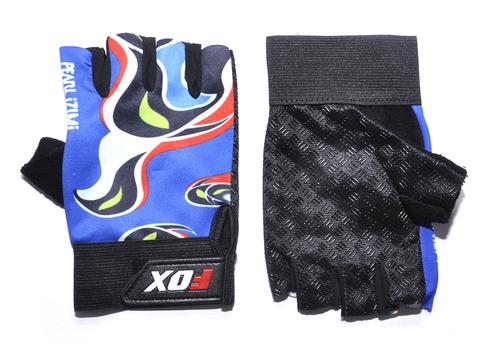 Перчатки велосипедные с антискользящим покрытием. DS-QVA