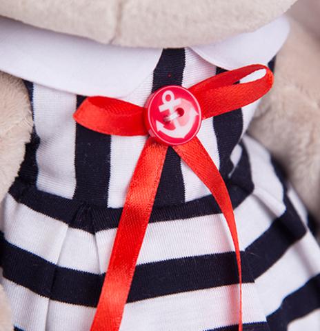 Зайка Ми в морском платье в полоску (большая)