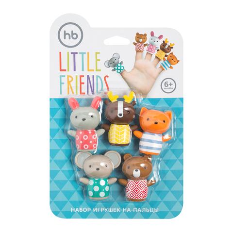 Игровой набор HAPPY BABY Little Friends - для игр в детской, в ванной и в путешествии