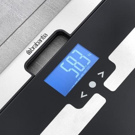 Цифровые весы с мониторингом параметров тела, Черный, арт. 481949 - фото 1