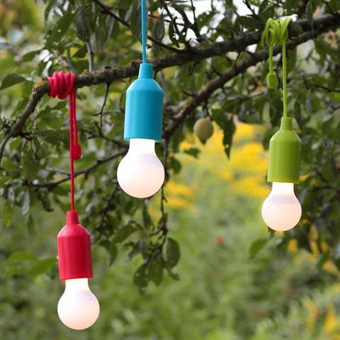 Светодиодная лампочка HyCell Pull-Light-1W-голубая + 3ААА